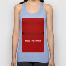Enjoy the silence Unisex Tank Top