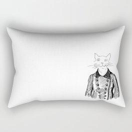 Crappy Cat 3! Rectangular Pillow