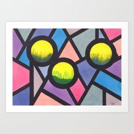 Elemental VIII Art Print