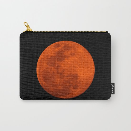 Orange Moon Carry-All Pouch