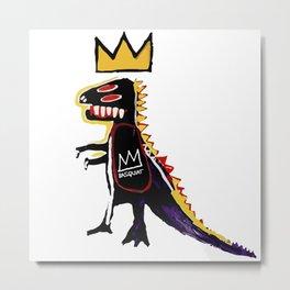 Basquiat Dinosaur - Jean Michel Basquiat Metal Print
