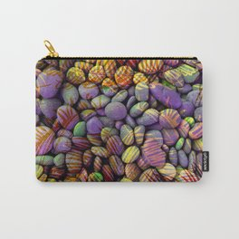 Stones and Palms - Ultraviolet Carry-All Pouch