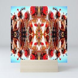 Tribal Dance Mini Art Print