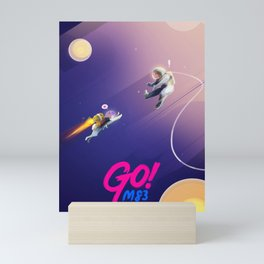 M83 - GO! Music Inspired Illustration Mini Art Print
