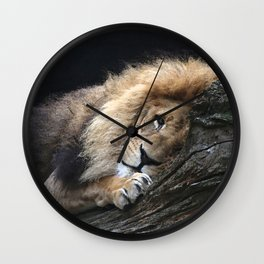 Aqua_Lion_20180102_by_JAMColorsSpecial Wall Clock
