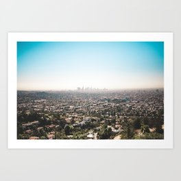 View of the Angels Art Print