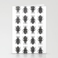 beetle Stationery Cards featuring Beetle by Najla