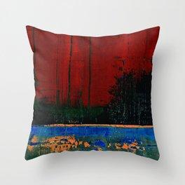 Simon Carter Painting Changling Throw Pillow