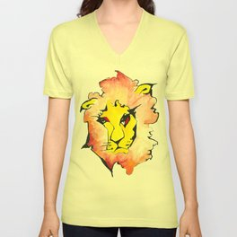 LION Unisex V-Neck