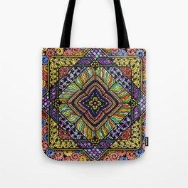 Family Mandala - מנדלה משפחה Tote Bag