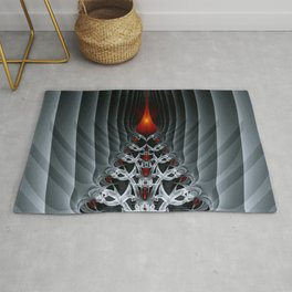 Fractal Art by Sven Fauth - Path to hell Rug