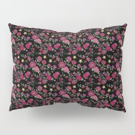 Project 52 | Roses on Black Pillow Sham
