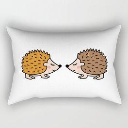 Cute hedgehog Rectangular Pillow