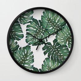 Palm's Away Wall Clock