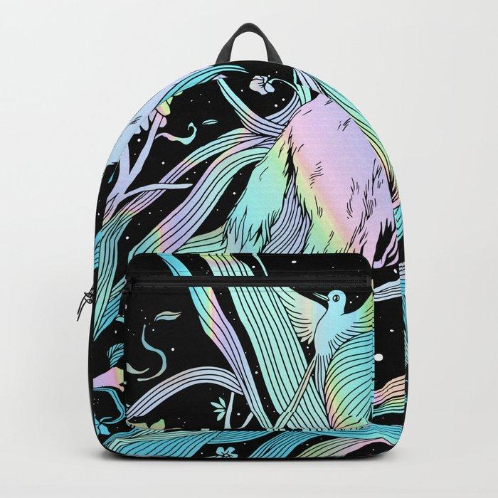 Wild Emergence (Warm Freeze) Backpack