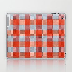 Pixel Plaid - Autumn Bark Laptop & iPad Skin