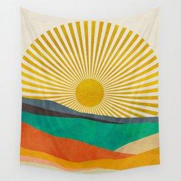 hope sun Wall Tapestry