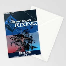 Rising - Metal Gear Stationery Cards