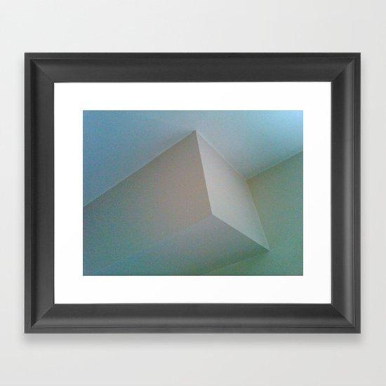 mano corner Framed Art Print
