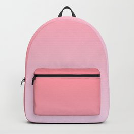 Pastel Ombre Rose Color Gradient Millennial Pink Lilac Cute Pattern Backpack