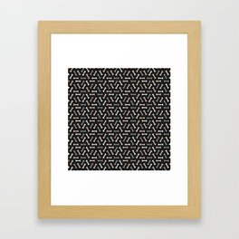 Cute little bones Framed Art Print