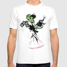ENVY SMALL White Mens Fitted Tee