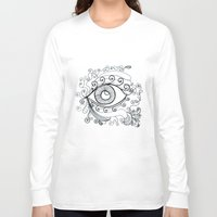 third eye Long Sleeve T-shirts featuring third eye by yogivette