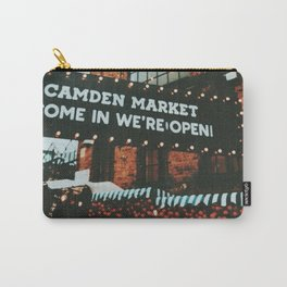 Gloomy day at Camden Lock Carry-All Pouch