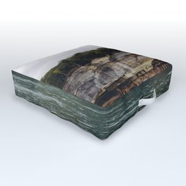 Pictured Rocks I Outdoor Floor Cushion