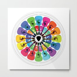 Pick A Color Metal Print