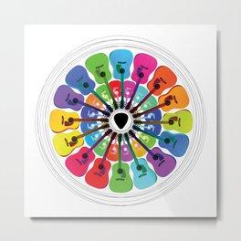 Pick A Color Metal Print