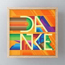 Danke - Appreciation Nation Framed Mini Art Print
