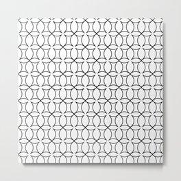 Home Decor black and white #society6 #decor #buyart #artprint Metal Print