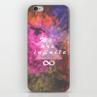 infinite iPhone & iPod Skins featuring Infinite by MJ Mor
