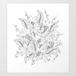 Floral #4 Art Print