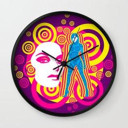 Acid Trip II Wall Clock