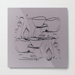 batuque na cozinha 20 (drumming in the kitchen) Metal Print