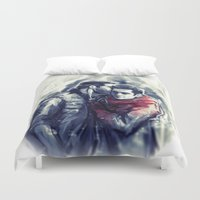 sterek Duvet Covers featuring sterek III by AkiMao
