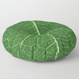 Details of a leaf Floor Pillow