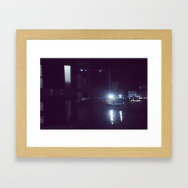 Nightcall Framed Art Print