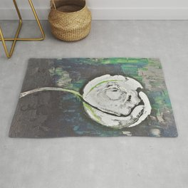 Golden Rose Acrylic Icey Green Mint Chocolate Chip Rug