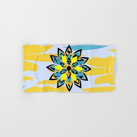 Tropical flower Hand & Bath Towel