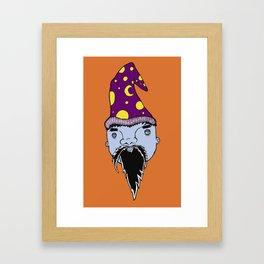 Whizard Framed Art Print