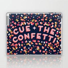 Cue the Confetti – Navy Palette Laptop & iPad Skin