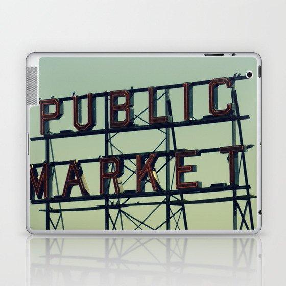 public market... Laptop & iPad Skin