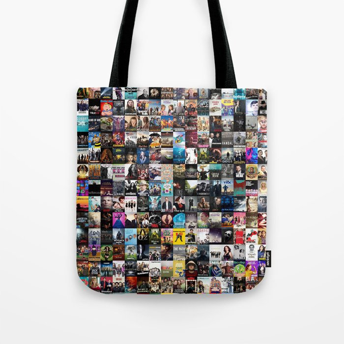 Cable Television Series Tote Bag