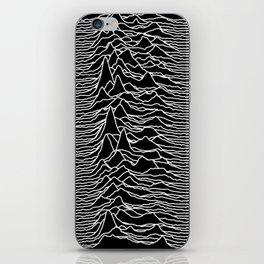 Joy Division - Unknown Pleasures iPhone Skin