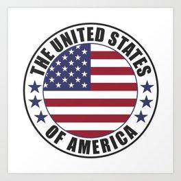 The United States of America - USA Art Print
