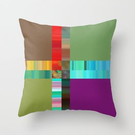 it all breaks down Throw Pillow