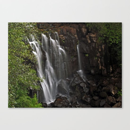 Aros Park Waterfall Canvas Print